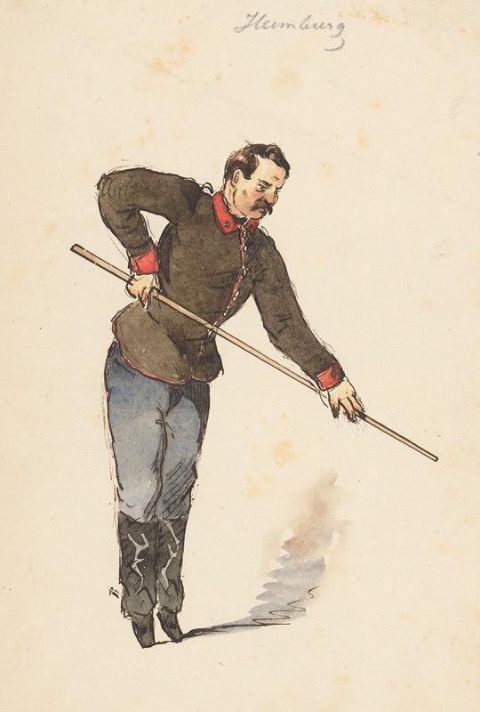 Friedrich Carl von Scheidlin - Pri hre II.