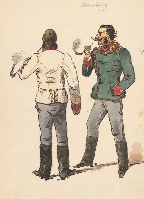 Friedrich Carl von Scheidlin – Fajčiari