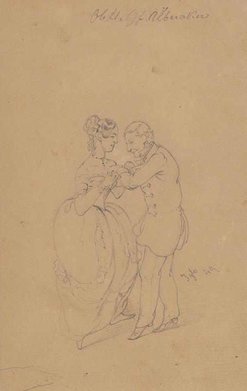 Friedrich Carl von Scheidlin – Tanec