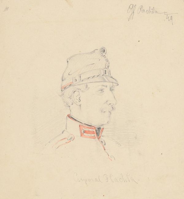 Friedrich Carl von Scheidlin - Portrétna štúdia