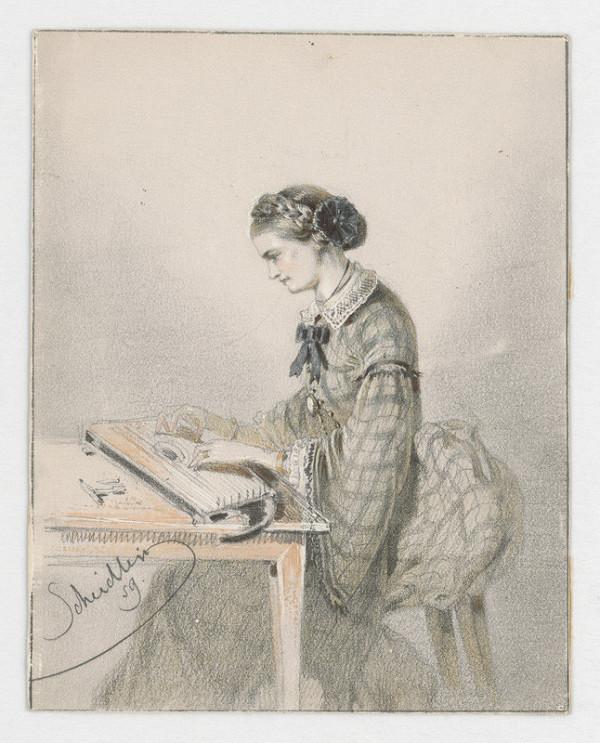 Friedrich Carl von Scheidlin – Pri ručnej práci