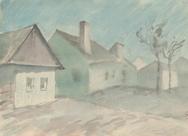 Štefan Prohászka-Tallós - Dedinské domy