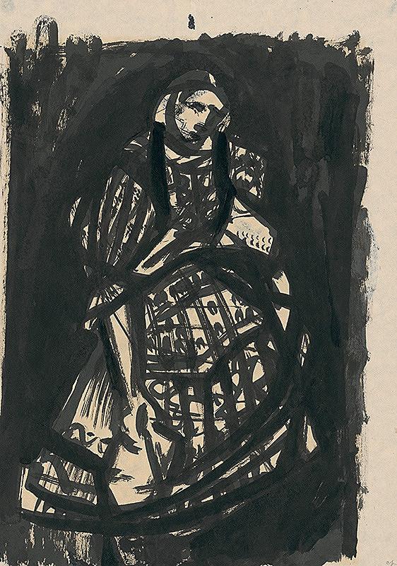 Viliam Chmel – Dievča v kroji