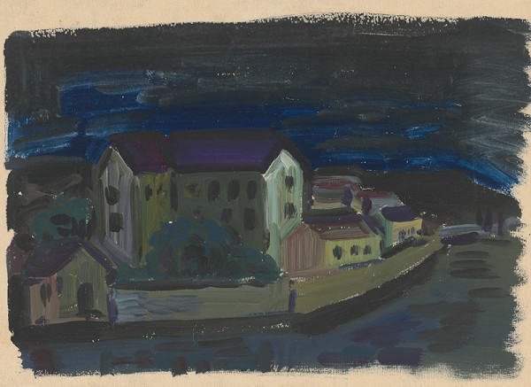 Alojz Klimo - Krajina v noci