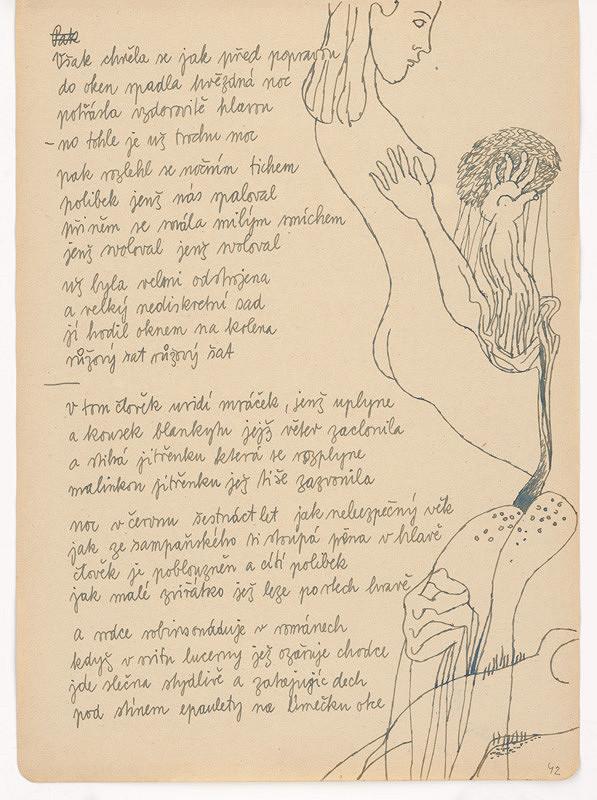 Ervín Semian – Náčrtník - 55 listov