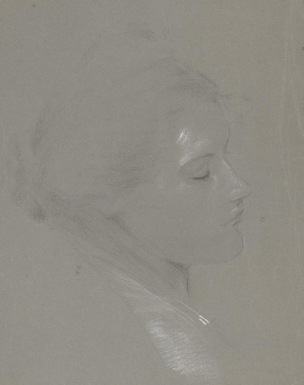 Cyril Kresák – Štúdia ženskej hlavy