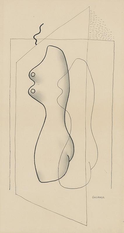 Mikuláš Galanda - Tieň, 1930, Slovenská národná galéria