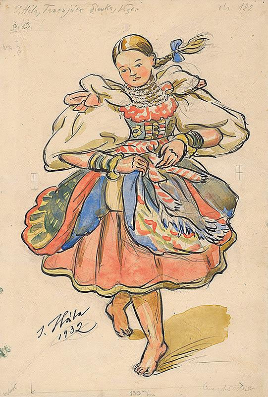 Jan Hála – Tancujúce dievča
