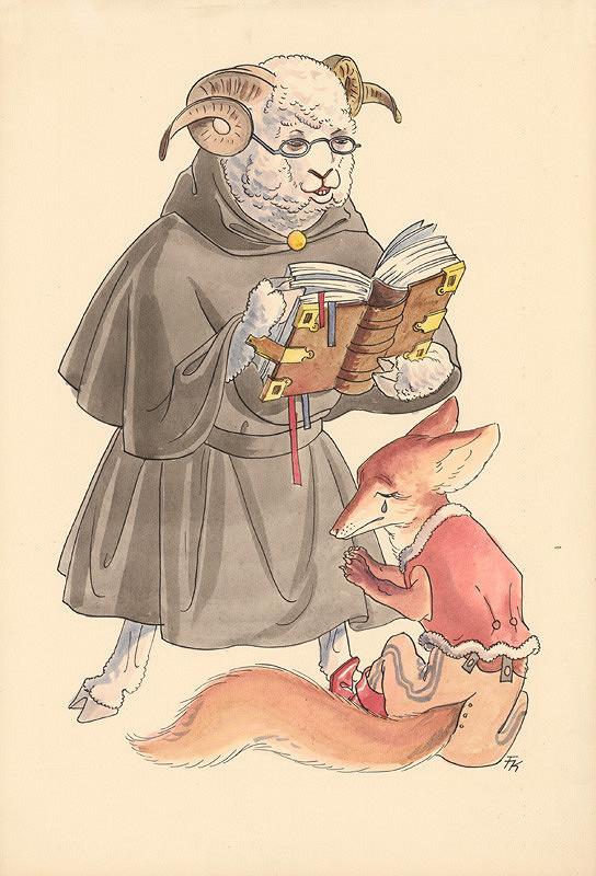 Fedor Klimáček – Baran a lišiak