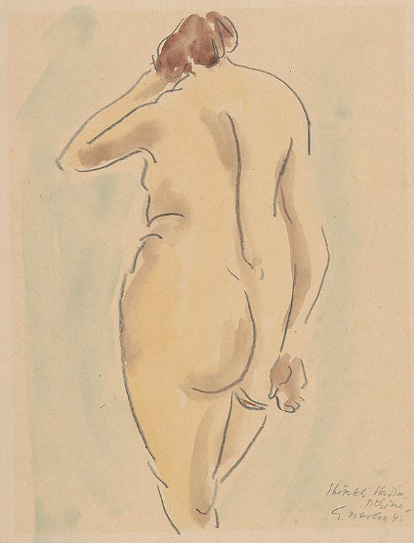 Eugen Nevan - Veľká nahá žena