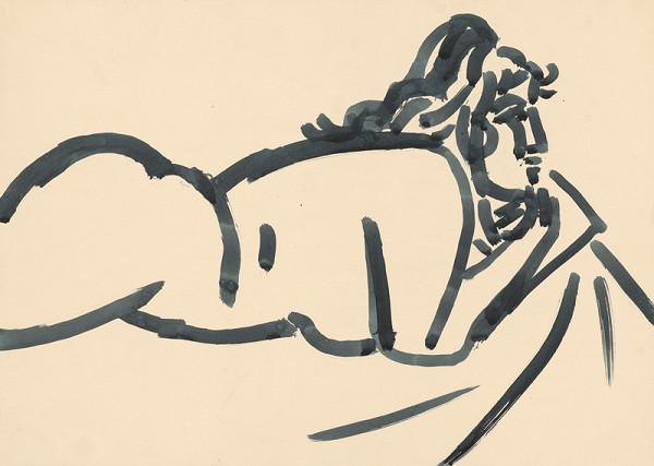 Peter Matejka - Žena s rukami pod bradou