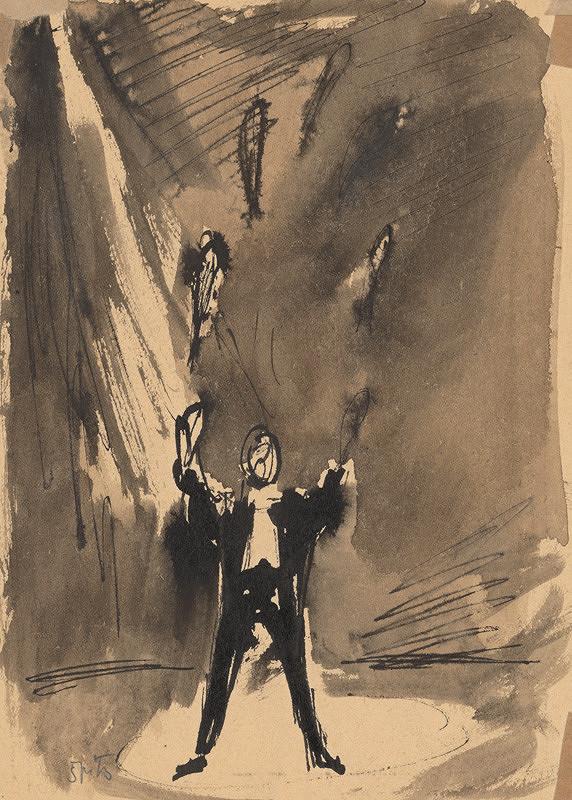 Ernest Špitz – Mladý žonglér