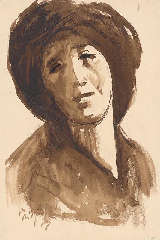 Ernest Špitz - Hlava ženy I.
