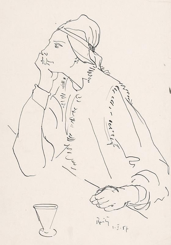 Ernest Špitz – Portrét I.