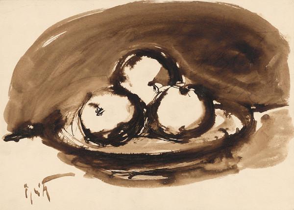 Ernest Špitz - Zátišie s ovocím