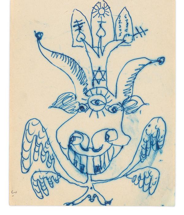 Eugen Nevan - Skicár - 14 listov - Príšera