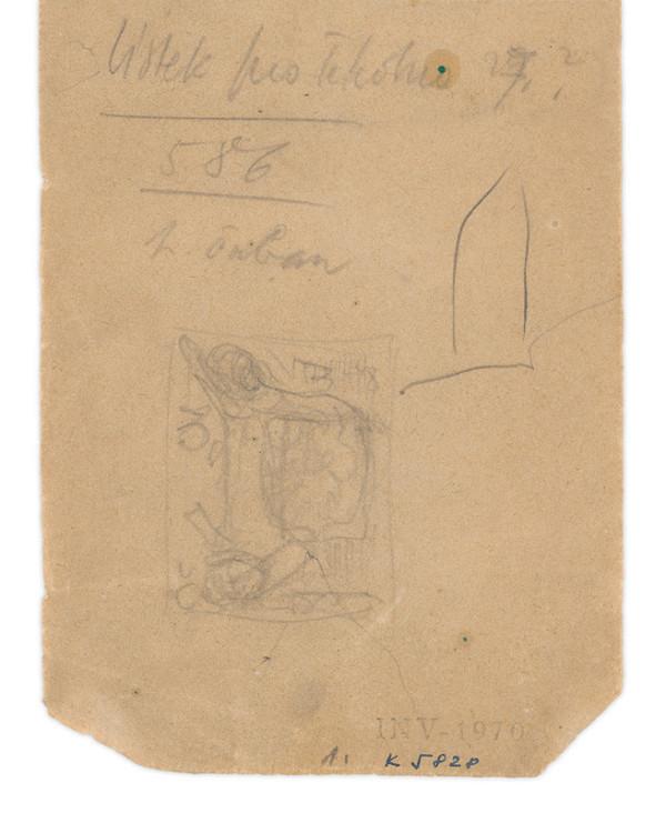 Eugen Nevan – Skicár II - 49 listov