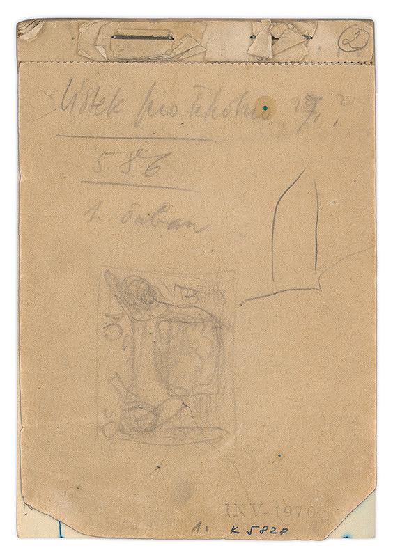 Eugen Nevan - Skicár II - 49 listov