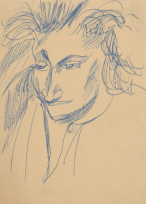 Eugen Nevan - Hlava muža