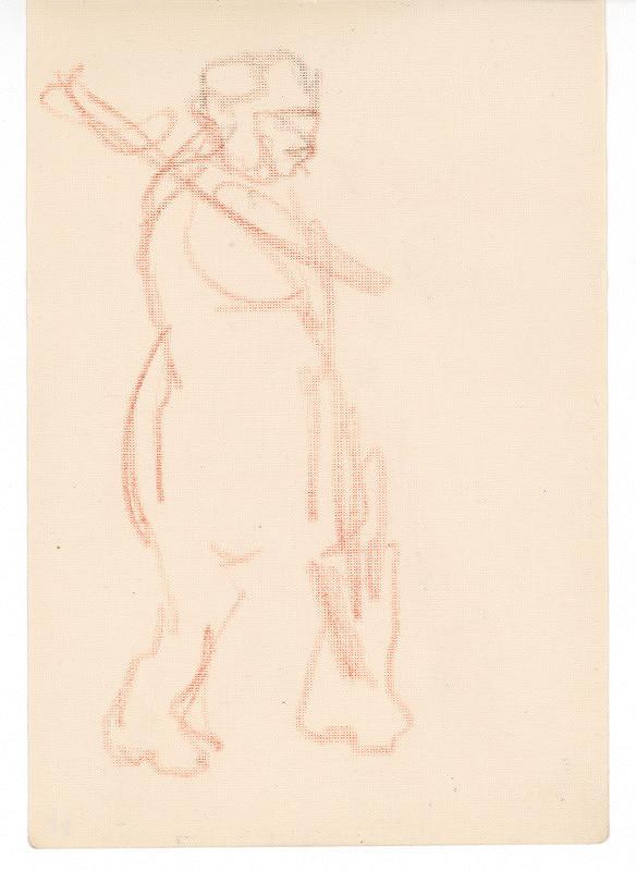 Ernest Špitz – Figúra muža