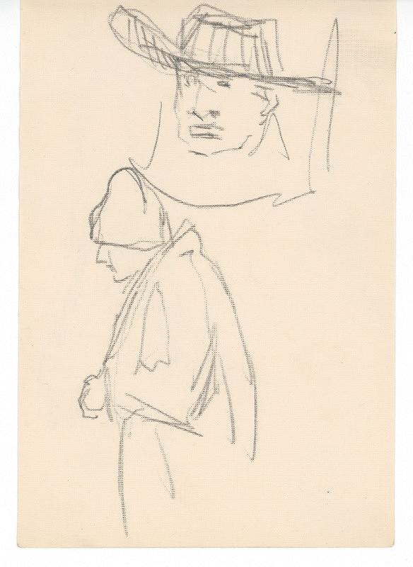 Ernest Špitz - Dve štúdie mužských hláv