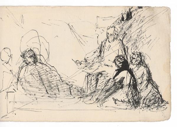 Ernest Špitz - Figurálna kompozícia
