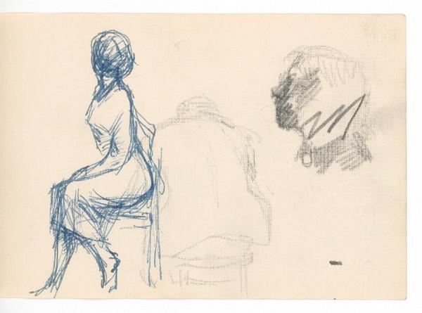 Ernest Špitz – Figurálne štúdie