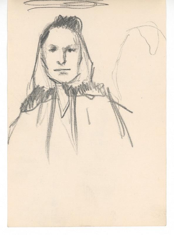 Ernest Špitz - Ženský portrét