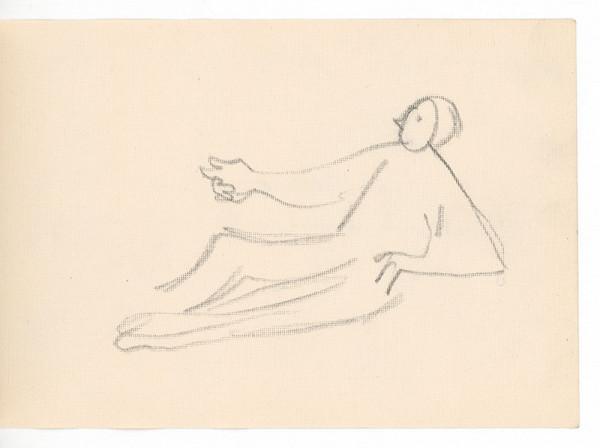 Ernest Špitz - Ležiaca figúra