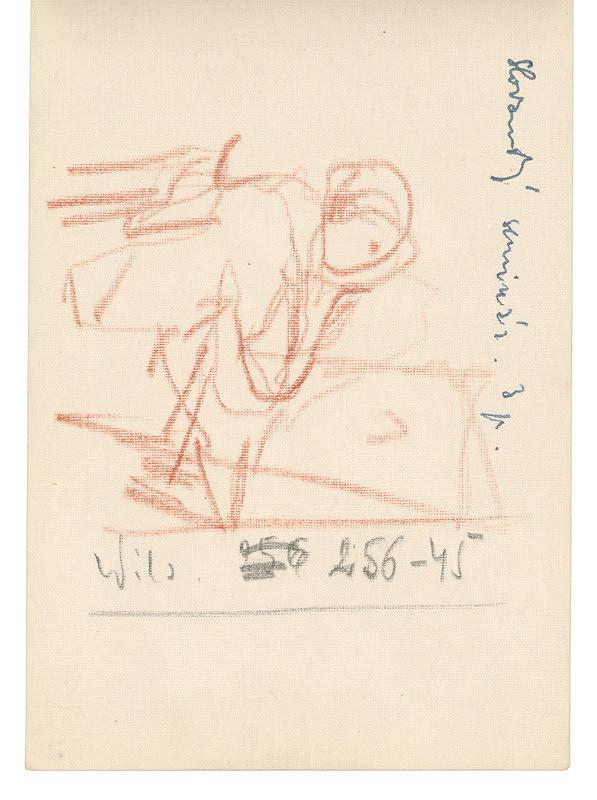 Ernest Špitz – Poznámky a figurálna kresba
