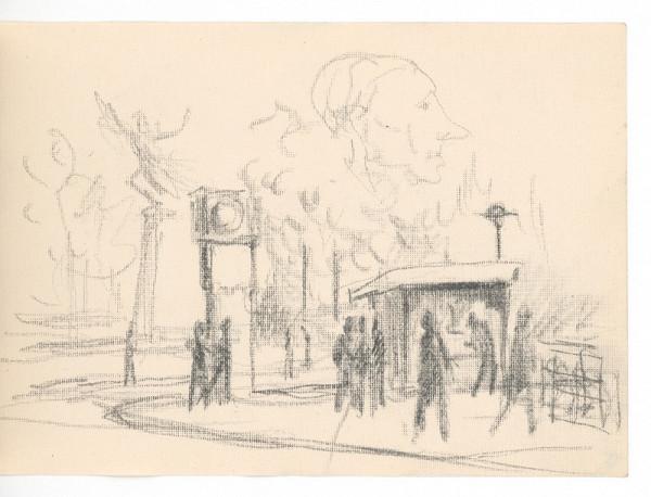 Ernest Špitz – Mestský motív