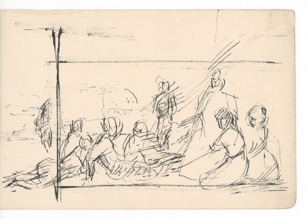 Ernest Špitz – Figurálna kompozícia