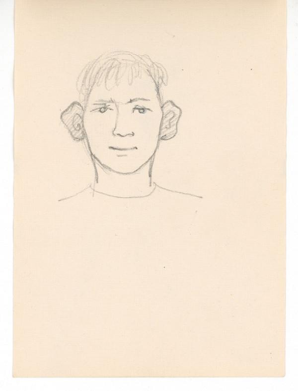 Ernest Špitz – Portrét chlapca s veľkými ušami