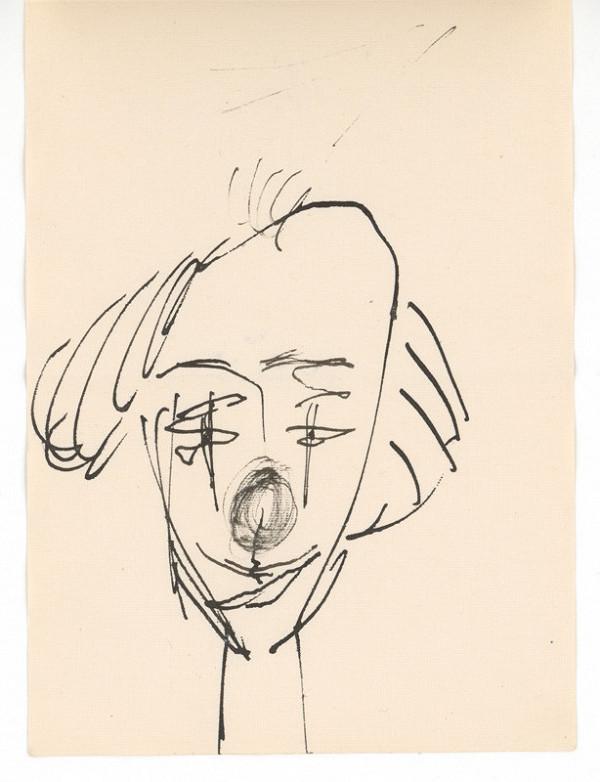 Ernest Špitz - Hlava klauna