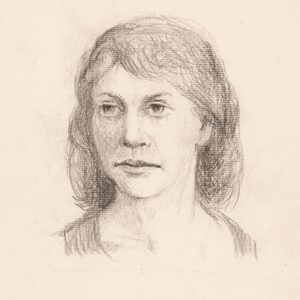 Ernest Špitz - Portrét mladej ženy