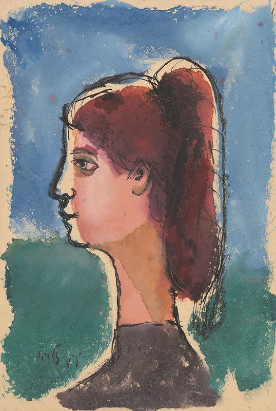 Ernest Špitz - Dievča z profilu
