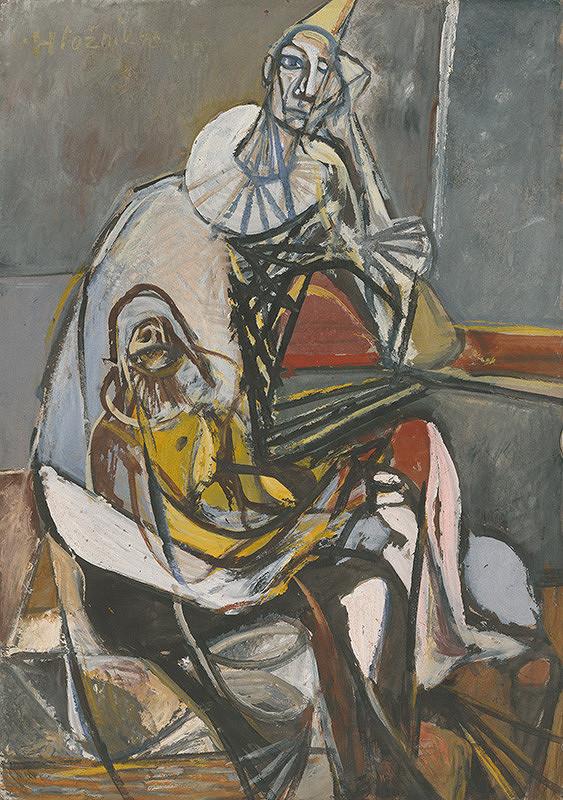 Vincent Hložník - Dvaja harlekýni
