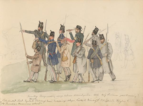 Stredoeurópsky maliar z 19. storočia, Július Odescalchi - Album kresieb z 1847 - 1849