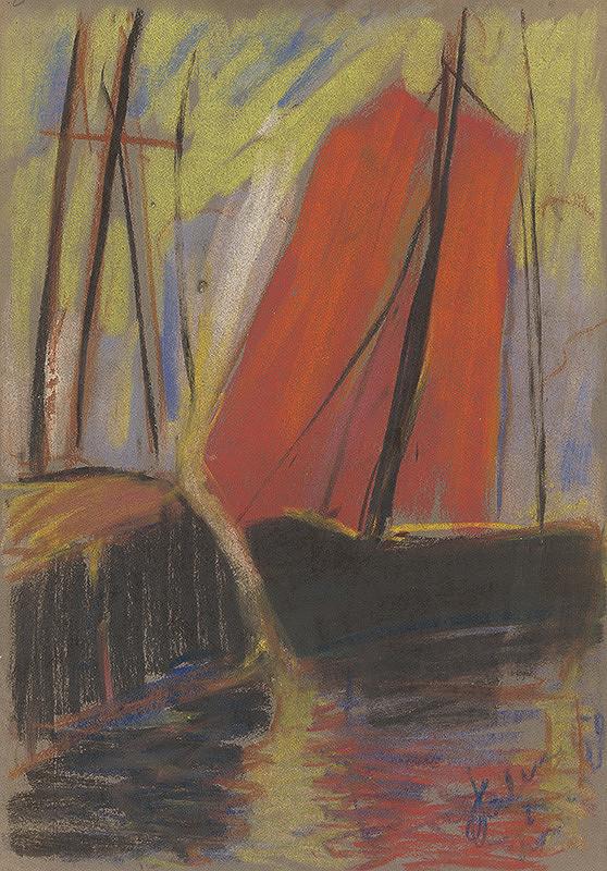 Zolo Palugyay - Červená jachta