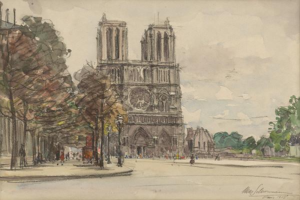 Maximilián Schurmann – Nôtre Dame v Paríži