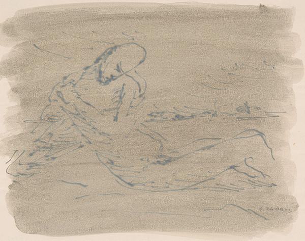 Eugen Nevan - Štúdia k milosrdnému samaritánovi I.