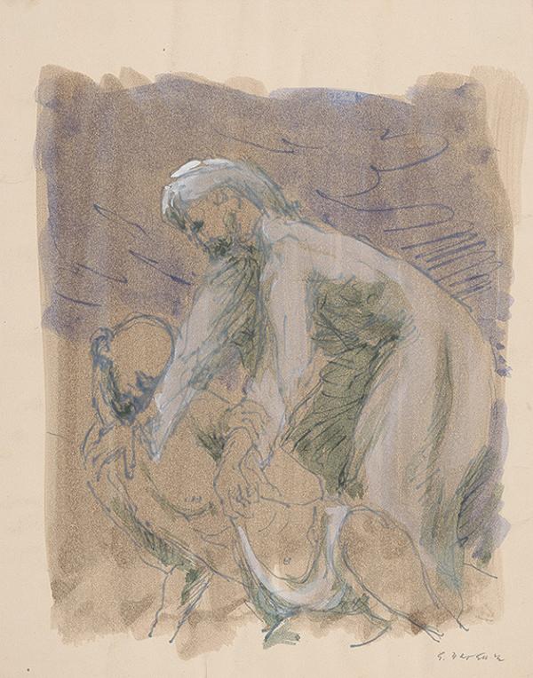 Eugen Nevan - Štúdia k milosrdnému samaritánovi