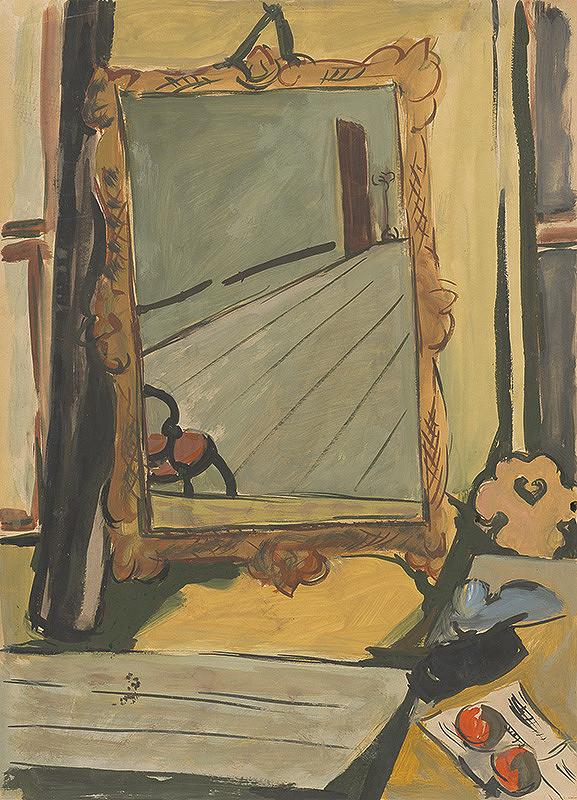 Eugen Nevan - Zátišie so zrkadlom
