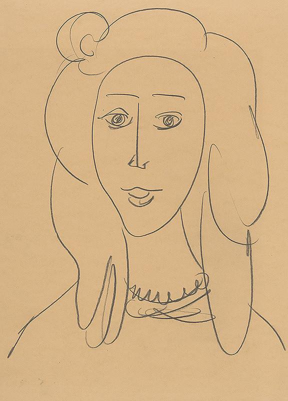 Eugen Nevan - Dievča s dlhými vlasmi