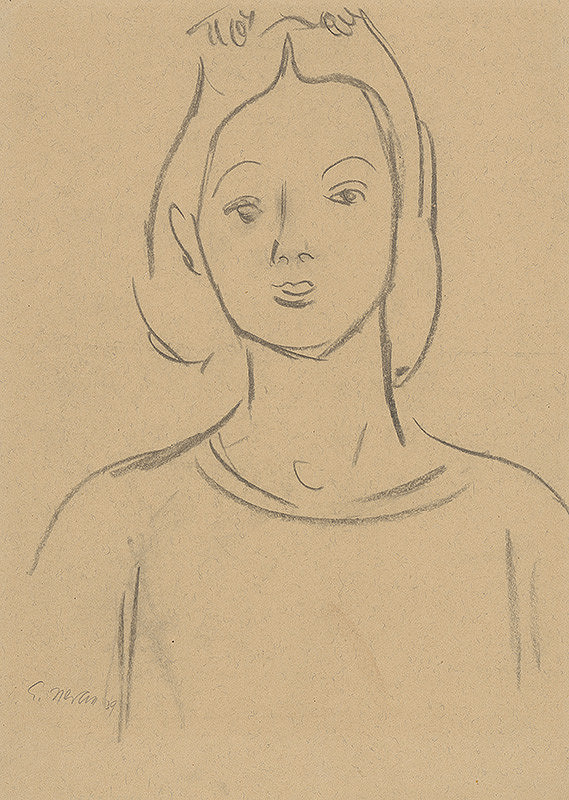 Eugen Nevan - Portrét ženy I.