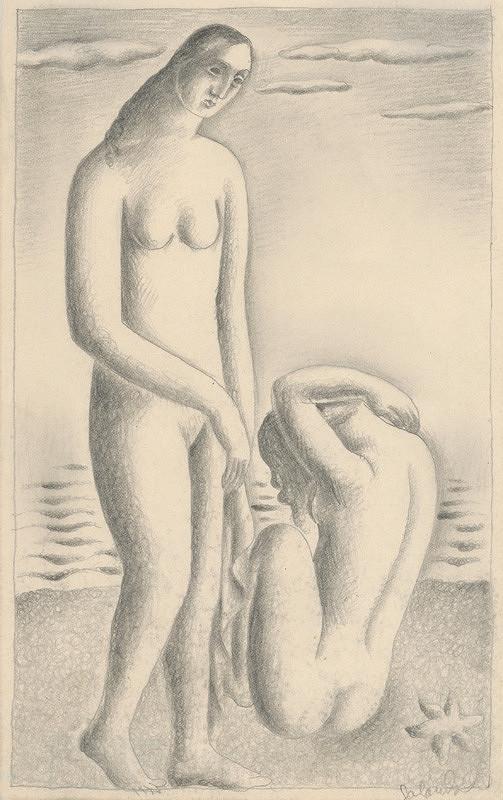 Mikuláš Galanda - Ženy na morskom brehu