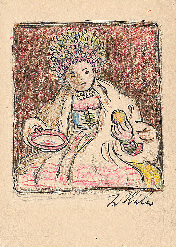 Jan Hála - Žena v kroji