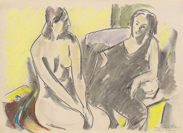 Eugen Nevan - Dve ženy