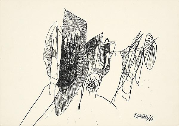 Ferdinand Hložník - Kresba X.