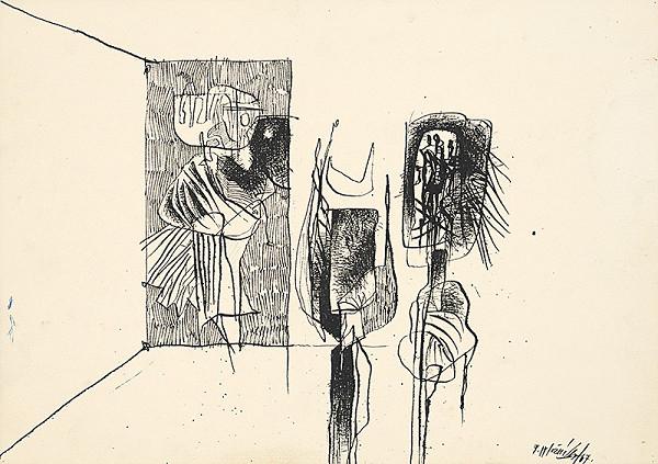Ferdinand Hložník - Kresba XII.